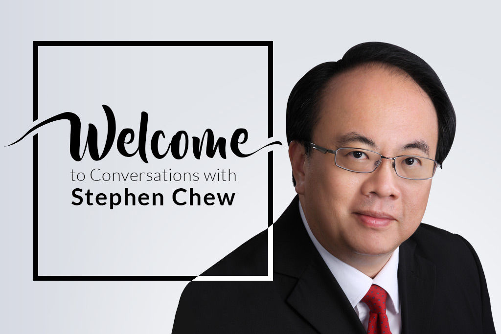 Conversations with Stephen Chew