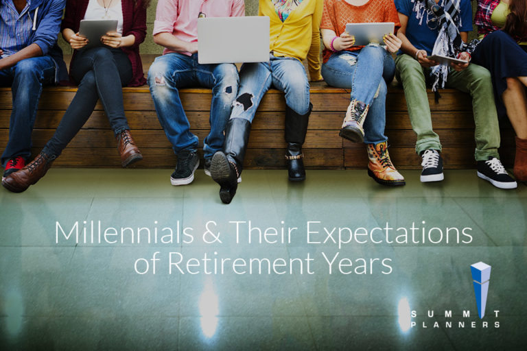 Millennials & Their Expectations of Retirement Years