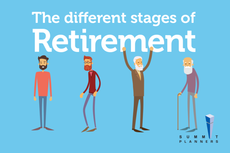 The different stages of retirement