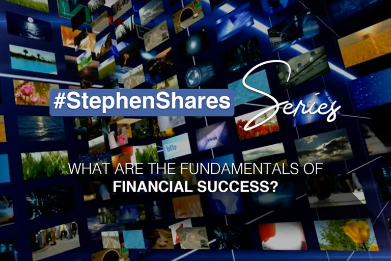 What are the fundamentals of Financial Success?