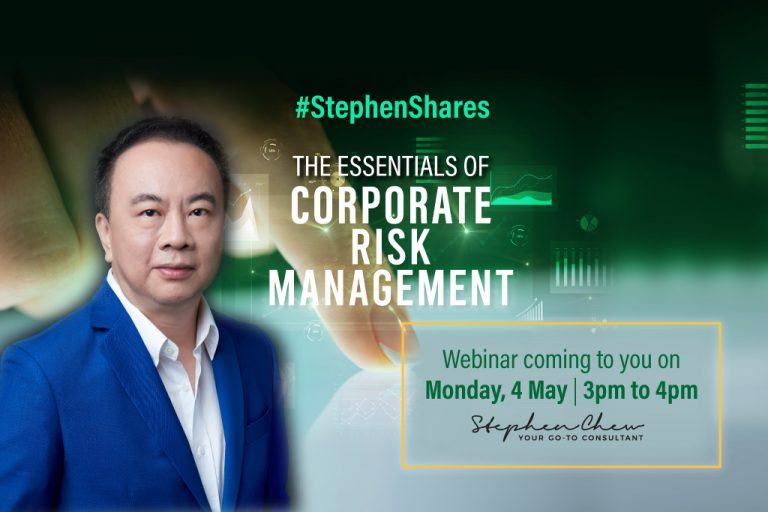The Essential of Corporate Risk Management Webinar