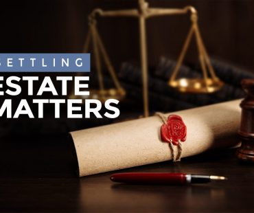 Settling Estate Matters